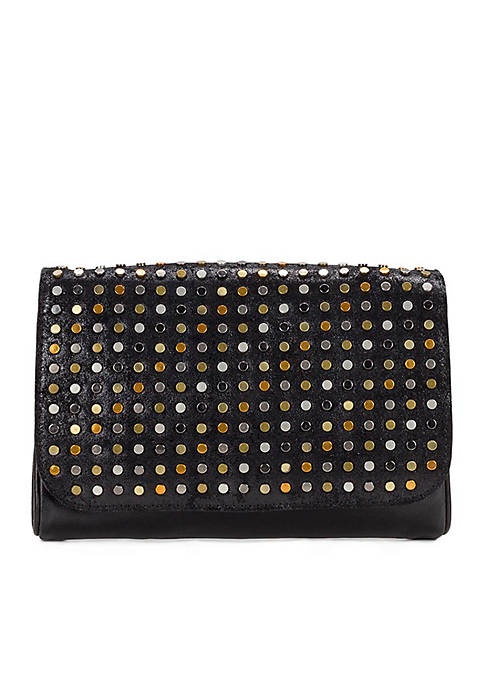 Patricia Nash Studded Luisa Flap Clutch