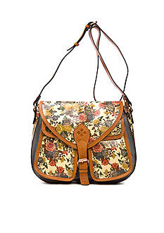 Patricia Nash Lamone Saddle Bag