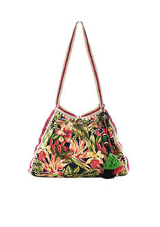Patricia Nash Girona Canvas Resort Tote