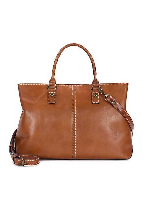 Patricia Nash Valleria Large Double Compact Satchel