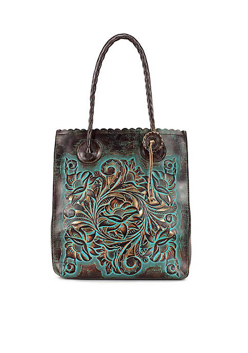 Patricia Nash Tooled Cavo Tote