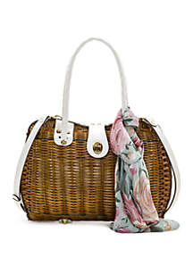 Patricia Nash Lucena Wicker Satchels