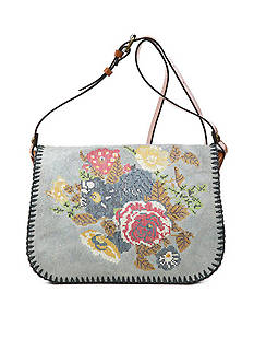 Patricia Nash Positano Square Saddle Bag