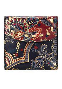 Rieti Bi-Fold Frame Wallet