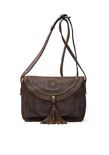 Distressed Vintage Beaumont Flap Bag