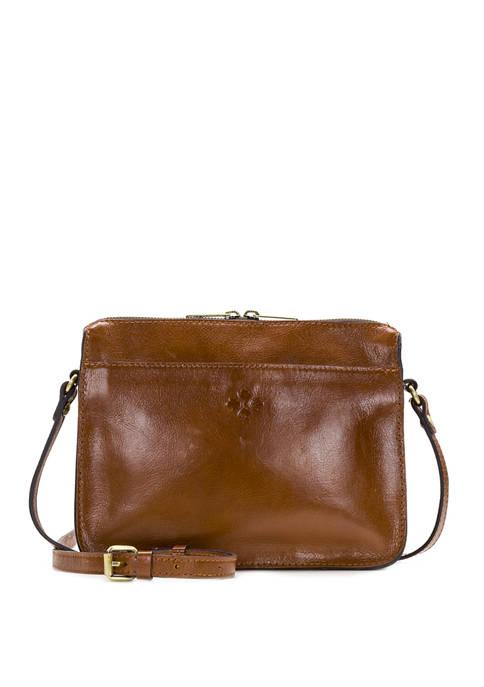 Patricia Nash Heritage Nazaire Top Zip Crossbody Bag