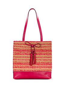 Patricia Nash Toscano Ebbe Straw Tote Bag