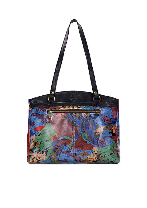 Patricia Nash Forest Poppy Tote