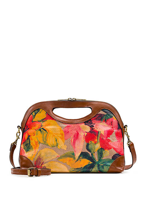 Sanza Spring Straw Crossbody Bag
