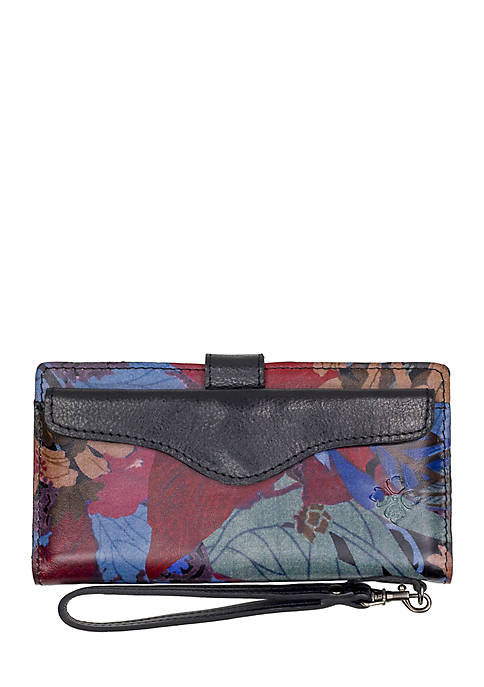 Patricia Nash Blue Forest Valentia II Wallet