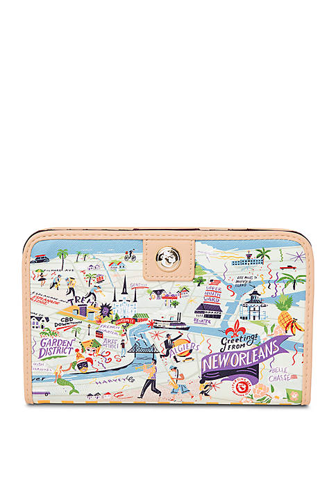 New Orleans Snap Wallet