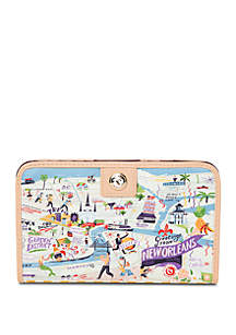 spartina 449 New Orleans Snap Wallet