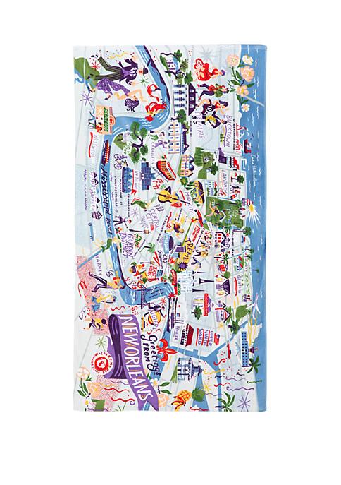 spartina 449 New Orleans Beach Towel
