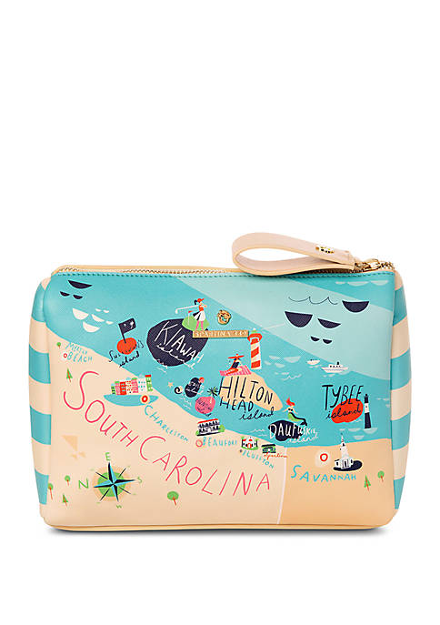 Greetings From Sea Islands Carry All Case