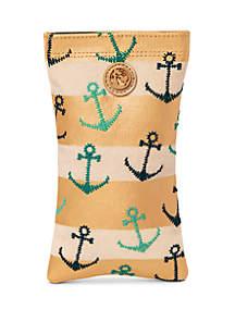 spartina 449 Anchors Stripe Sunglass Case