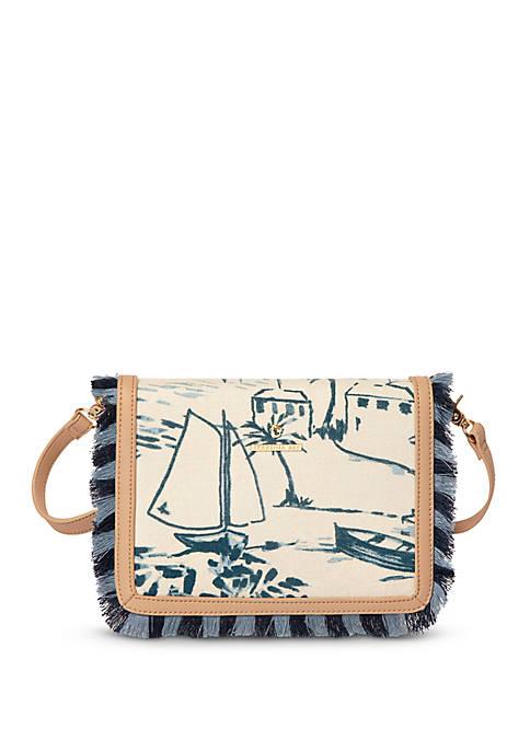 Daise Seascape Clutch Crossbody Bag