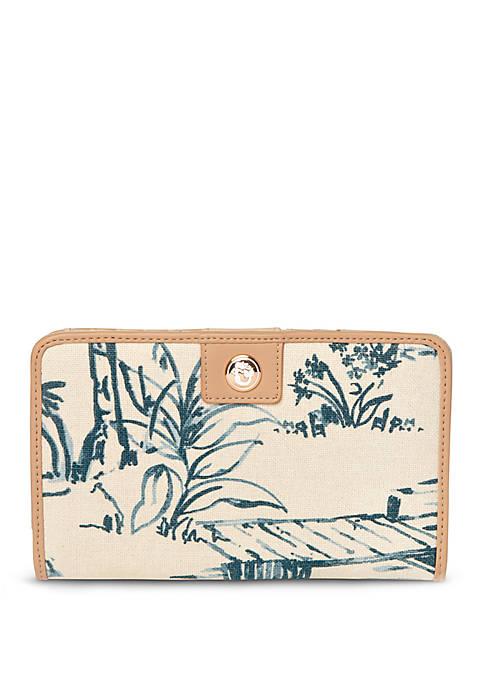 spartina 449 Daise Seascape Snap Wallet