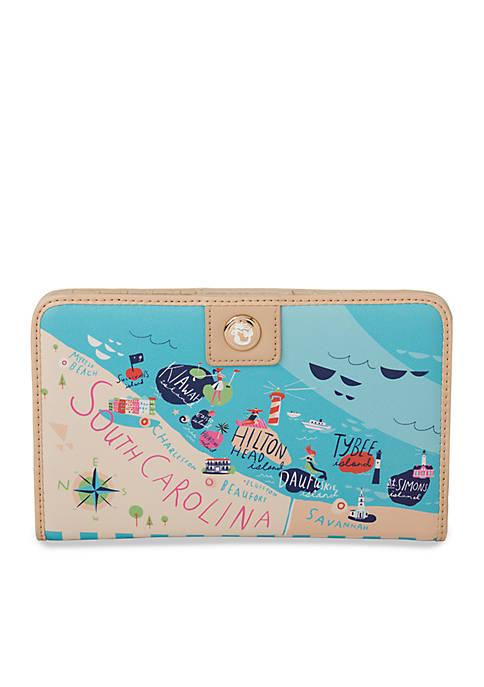 Sea Islands Snap Wallet