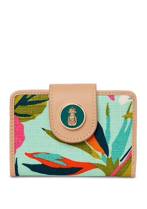 spartina 449 Moreland Yacht Club Mini Wallet
