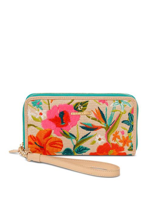 Moreland Embroidered 449 Wallet