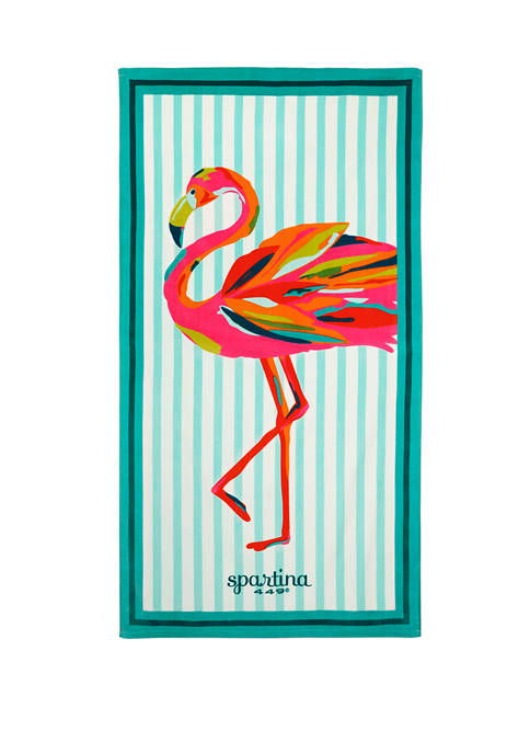 Moreland Flamingo Beach Towel