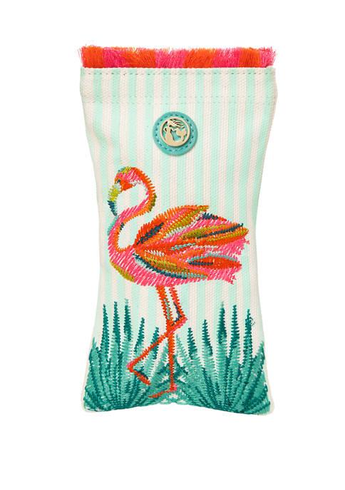 Moreland Flamingo Sunglass Case