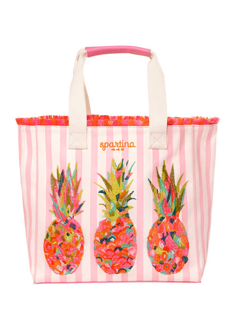 Moreland Pineapple Beach Tote