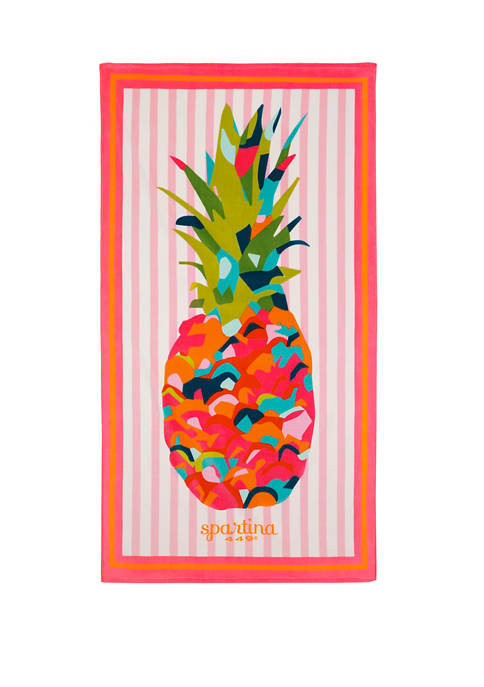 Moreland Pineapple Beach Towel