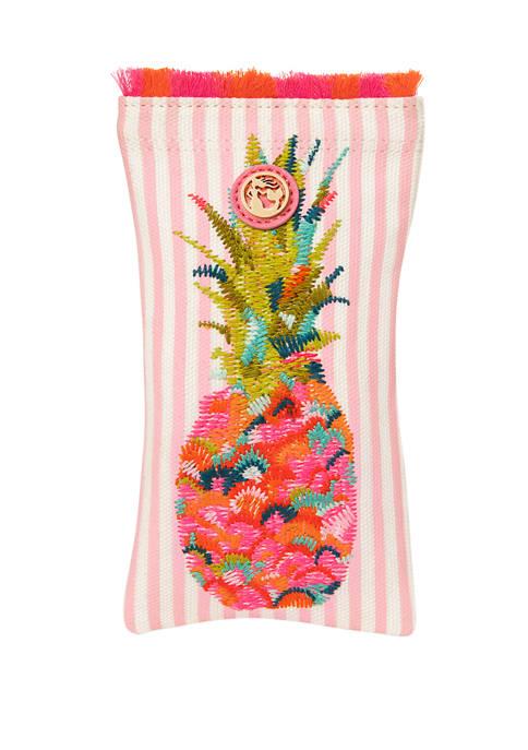 Moreland Pineapple Sunglass Case