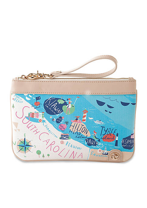 spartina 449 Sea Islands Zip Wristlet
