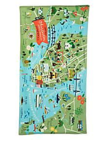 Charleston Beach Towel