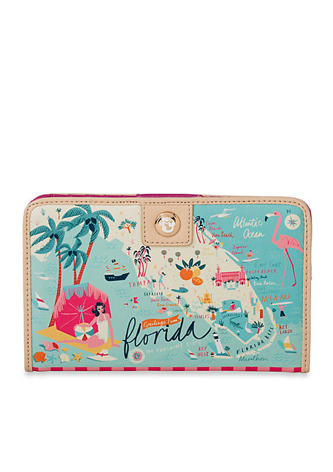 spartina 449 Florida Snap Wallet