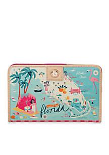 spartina 449 Florida Snap Wallet