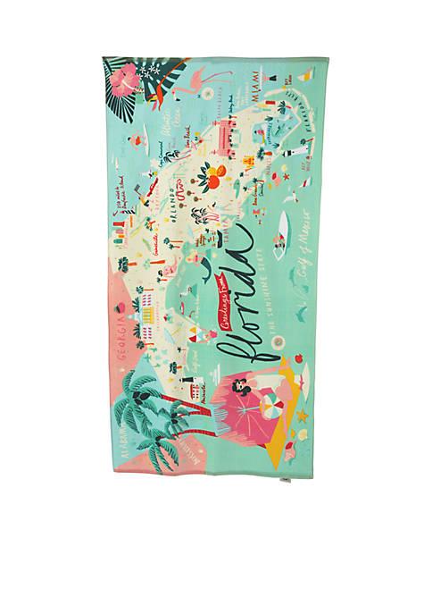 Florida Beach Towel