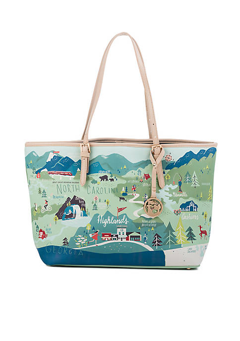 spartina 449 Blue Ridge Mountain Tote