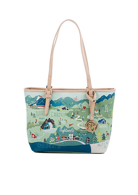 spartina 449 Blue Ridge Mountain Small Tote