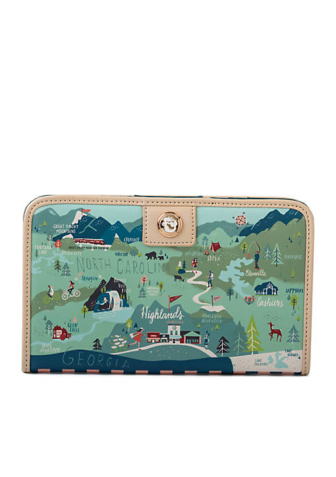 spartina 449 Blue Ridge Mountain Snap Wallet