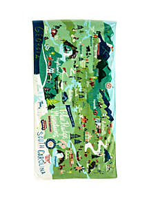 spartina 449 Blue Ridge Mountains Beach Towel