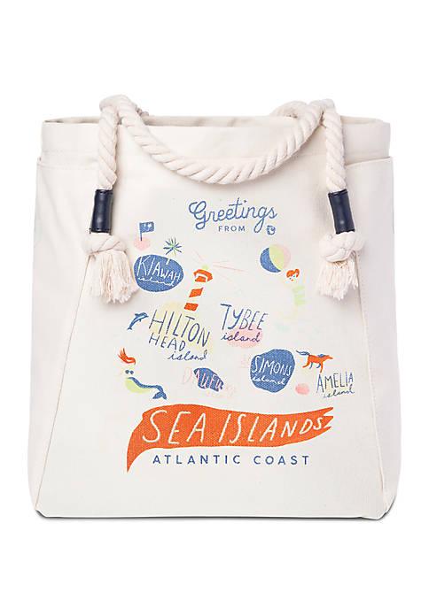 spartina 449 Sea Islands Canvas Tote