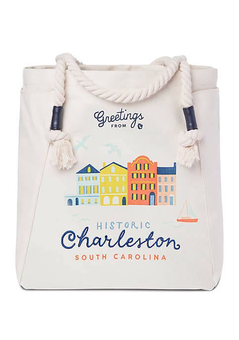 spartina 449 Charleston Canvas Tote