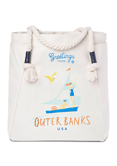 spartina 449 Outer Bank Canvas Tote