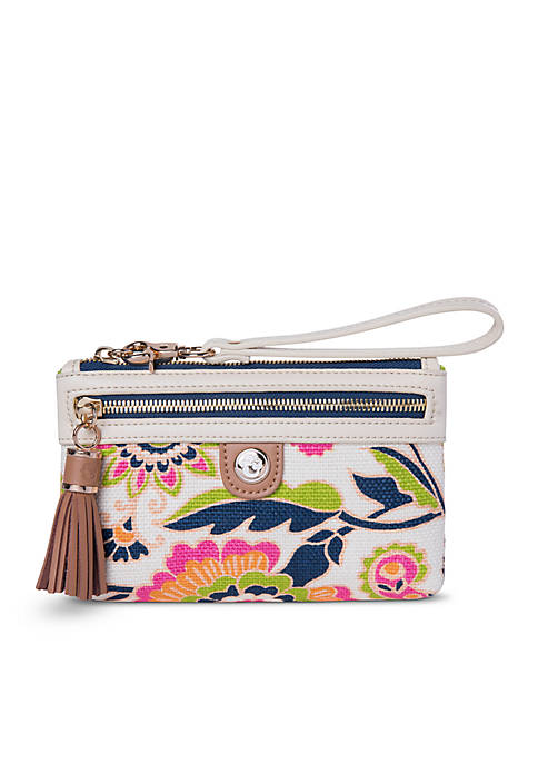 spartina 449 High Ebb Tassel Wristlet