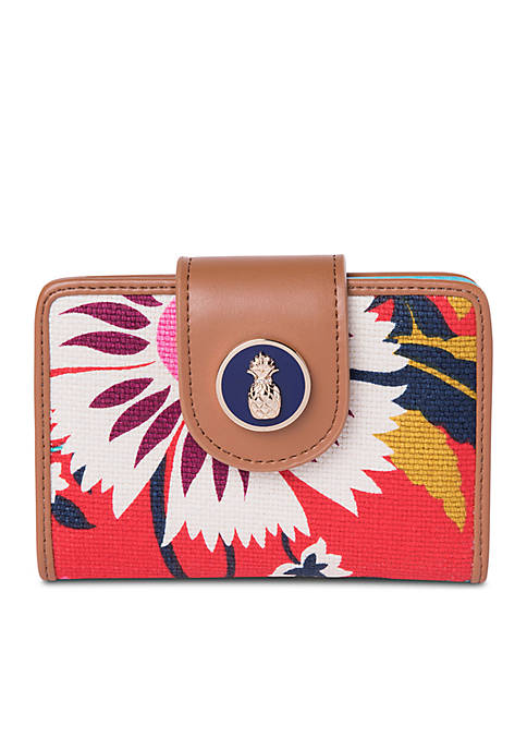 spartina 449 Little Bermuda Yacht Club Mini Wallet