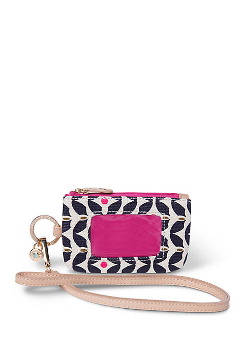 spartina 449 Maritime Lanyard ID Pouch
