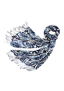 Moonglade Bamboo Weave Scarf
