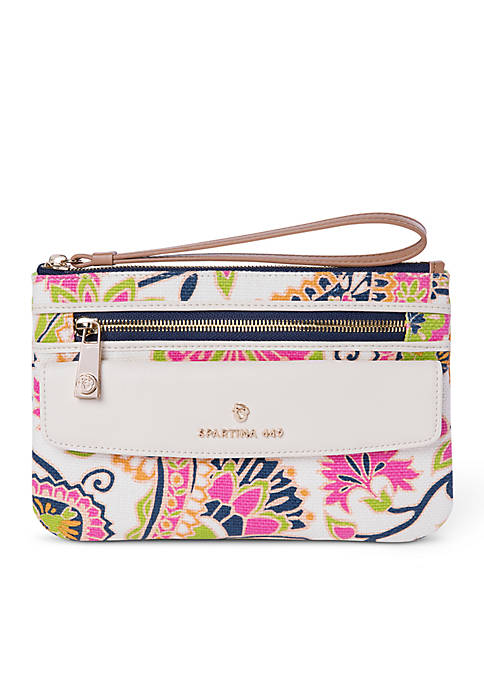 spartina 449 High Ebb Ava Phone Wristlet
