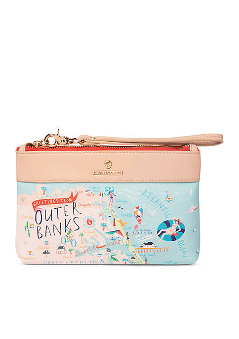 spartina 449 Outer Banks Scout Wristlet