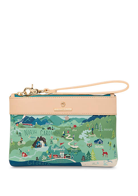 spartina 449 Blue Ridge Mountains Scout Wristlet