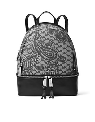51a461e4b780 MICHAEL Michael Kors. MICHAEL Michael Kors Kors Studio Collection Paisley  Rhea Zip Medium Backpack