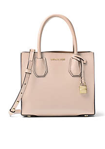 Kors Studio Collection Mercer Medium Bonded-Leather Tote